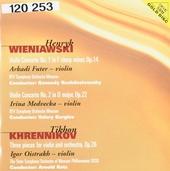Violin concerto no.1 in F sharp minor, op.14
