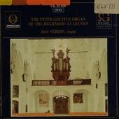 The Peter Goltfus organ of the Begijnhof at Leuven