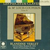 Les pièces de clavessin de Mr Louis Couperin. Tome IV