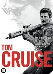 Tom Cruise : War of the worlds ; Collateral ; Mission impossible : rogue nation ; Oblivion