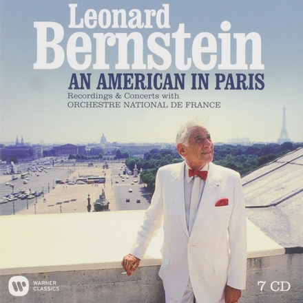 An American in Paris : Recordings & concerts with Orchestre National de France