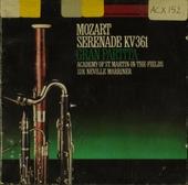 "Serenade K. 361 ""Gran Partita"""