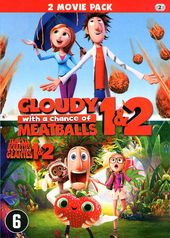 Cloudy with a chance of meatballs 1 & 2