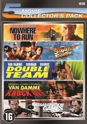 Nowhere to run ; Street fighter ; Double team ; Knock off ; Assassination games