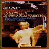 Double concerto for two string orchestras, piano and timpani