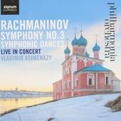 Symphony no.3 . Symphonic dances : live in concert
