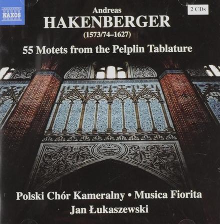 55 motets from the Pelplin Tablature