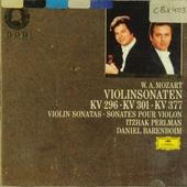 Sonaten für Klavier und Violine : KV 296-KV 301(293a)-KV 377(374e)