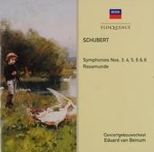 Symphonies nos.3, 4, 5, 6 & 8