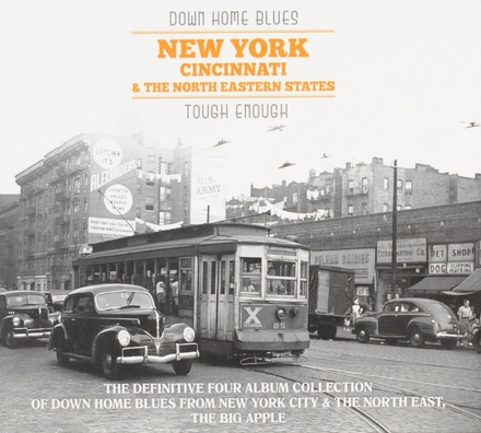 Down home blues : New York Cincinatti and the North Eastern states : the definitive four album collection of Down h...