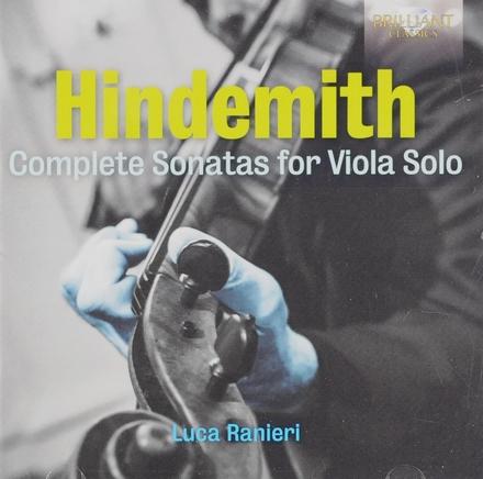 Complete sonatas for viola solo
