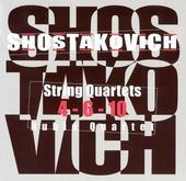 String quartets 4-6-10