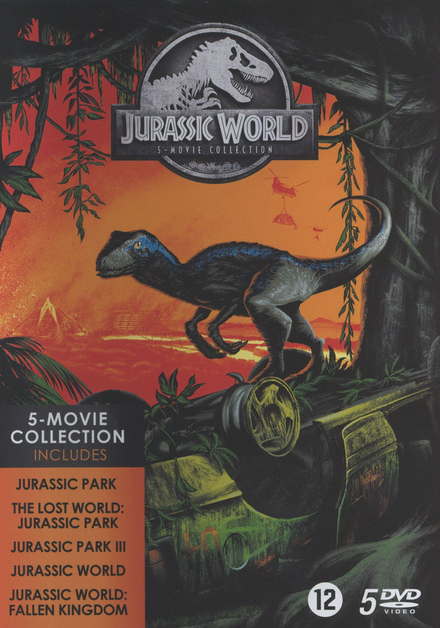 Jurassic world : 5 movie collection