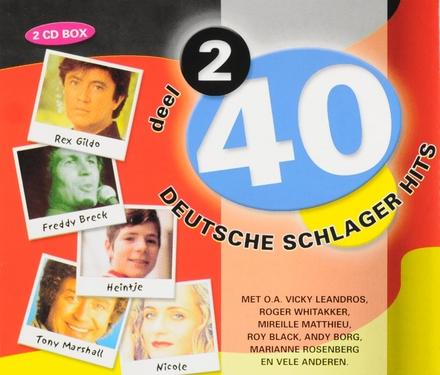40 Deutsche Schlager Hits. vol.2