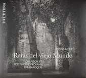 Rions noir : chanson et polyphonie profane pré-baroque
