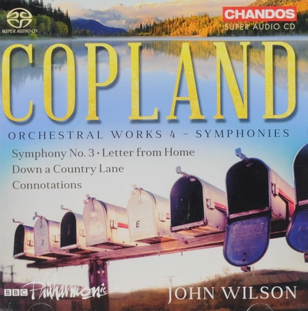 Orchestral works. 4, Symphonies