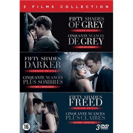 Fifty shades : 3 films collection
