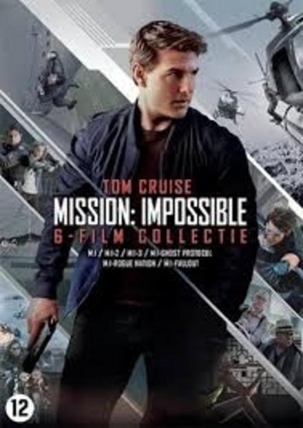 Mission: impossible : 6-film collectie : M:I / M:I-2 / M:I-3 / M:I-ghost protocol / M:I-rogue nation / M:I-fallout