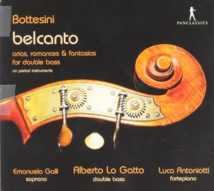 Belcanto : Arias, romances & fantasias for double bass