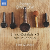 String quintets. Vol. 3, Nos. 28 and 29