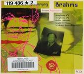 Brahms : Monteux, Wand, Szeryng