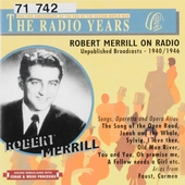 Robert Merill on radio : Unpublished broadcasts 1940-1946