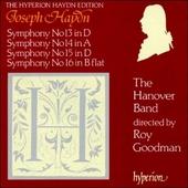 Symphonies 13, 14, 15, 16