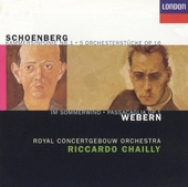 Webern - Schoenberg : orchestral works
