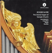 The grand organ of Temple Church