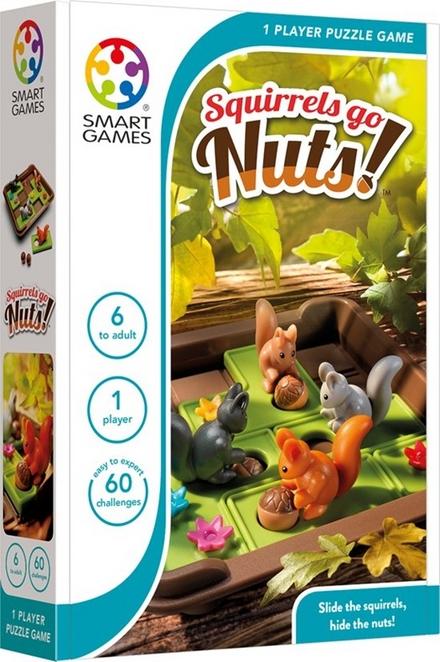 Squirrels Go Nuts! : 60 Opdrachten