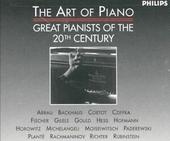 The art of the piano : great pianists of the 20th century