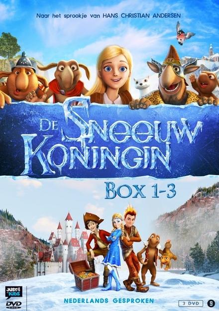 De sneeuwkoningin : box. Deel 1 t/m 3