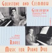 Gershwin & Ravel : Music for piano duo