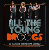 All the young droogs : 60 juvenile delinquent wrecks : rock 'n' glam and a flavour of bubblegum from the '70s