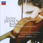 Beethoven, Britten : violin concertos