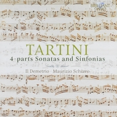 4-parts sonatas and sinfonias