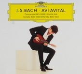 J.S. Bach - Avi Avital : concertos BWV 1052R, 1056R & 1041, sonata BWV 1034 & partita BWV 1004