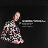 Eclectic - being me : Muzio Clementi, Frédéric Chopin, Sergei Prokofief, Alberto Ginastera, Nikolai Kapustin
