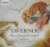 Gloria tibi trinitatis : music by John Taverner