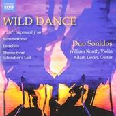 Wild dance : Arrangements for violin and guitar
