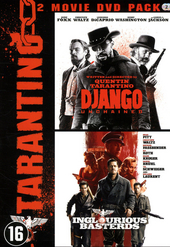 Tarantino 2 movie DVD pack : Django unchained ; Inglourious basterds