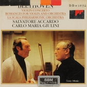 Concerto for violin and orchestra in D major, op.61