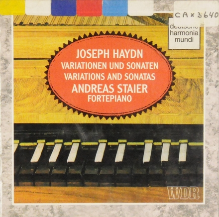 Variations and sonatas for fortepiano. Vol. 3