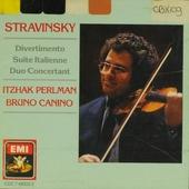 Itzhak Perlman plays Stravinsky