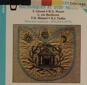 Musiques maconiques aux XVIIIe s.