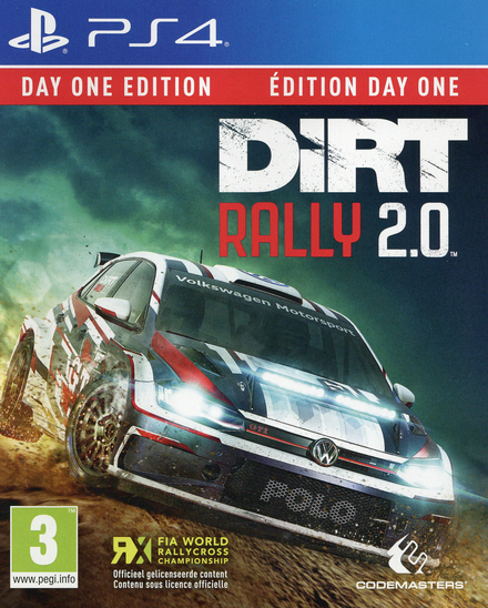 Dirt rally 2.0 : day one edition