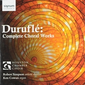 Complete choral works