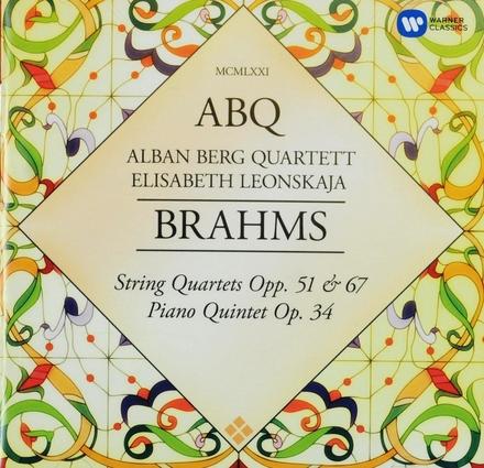 String quartets op.51 & 67, Pianoquintet op.34