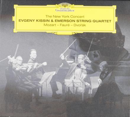 The New York concert : Mozart - Fauré - Dvorak