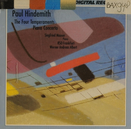 The four temperaments for piano and strings • Piano concerto